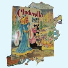 Cinderella paper Dolls partial set cut free P&I US buyers