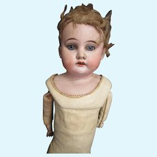 1897 AMO Bisque Doll with Shoulder damage Free P&I US Buyers
