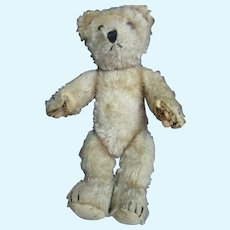 "1j0"" Jointed Mohair Bear Sweet Free P&I US Buyers"