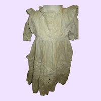 Large Victorian Dress for Bisque or China Doll Free P&I US buyers