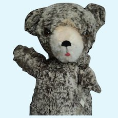 """14"""" Vintage Full Bodied Bear Puppet  Free P&I US buyers"""