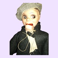 """18"""" Vintage Ventriloquist Doll Dummy Free P&I US Buyers"""