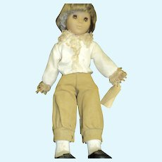 """1971 20"""" Clement Clodrey Made in France Doll"""