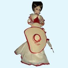 Big Eye Bradley doll w/hat and brella Free P&I US Buyers