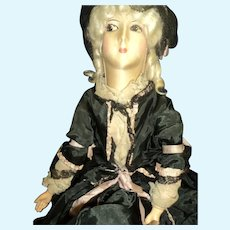 Lovely 1920's or 30's Boudoir doll  free P&I U S Buyers