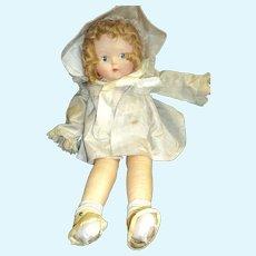 Wonderful Richard Krueger Musical cloth Doll Free P&I US Buyers