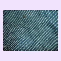 Wonderful Indigo blue material for your Bisque or China doll Free P&I US Buyers