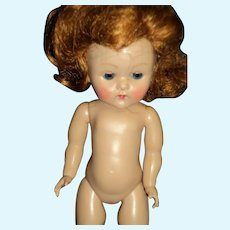 Red Head painted lash Strung Ginny doll Free P&I US Buyers