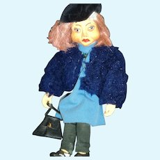 Awesome Czech Republic Marionette by Eva Bicistova Free P&I US  Buyers