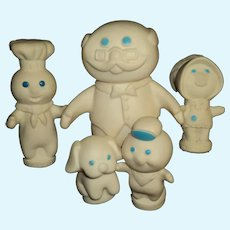 Assortment of Pillsbury Poppin Fresh Figures  Free P&I US Buyers