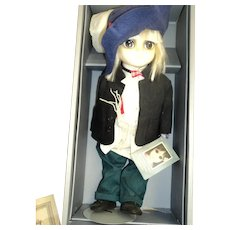 Limited Edition 1983 Margaret Keane BIG EYE doll Free p&I US Buyers