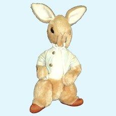 "17"" Vintage Eden Toys Beatrix Potter Peter Rabbit Free P&I US Buyers"