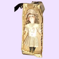 1920's German Bisque doll w/box Provenance Free P&I US Buyers