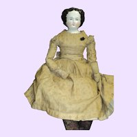 "1800's Magnificent 30"" China Doll  Free P&I US Buyers"
