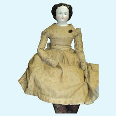 """1800's Magnificent 30"""" China Doll  Free P&I US Buyers"""