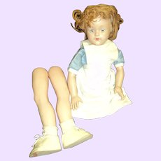 Large Effanbee Ann Shirley Compo Project Nurse or Alice doll Free P&I US Buyers