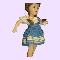 "Wonderful 14"" R&B Arranbee Pigtail Doll Free P&I US Buyers"