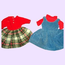 Two Tagged Tammy Doll Dresses Free P&I US Buyers