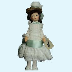 Isn't She Lovely Old Cottage Doll with Tag Free P&I US Buyers