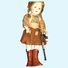 "W@W L@@k Darling 18"" Cowgirl Doll Free P&I US Buyers"