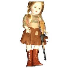 """W@W L@@k Darling 18"""" Cowgirl Doll Free P&I US Buyers"""