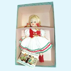 Vintage Madame Alexander Hungarian Doll w/box #797 Free P&I US Buyers