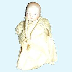 "5.5"" Bisque Baby doll restoration Free P&I U S Buyers"