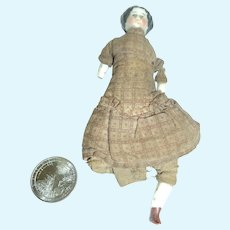 "4.5"" China Doll house doll Free P&I US Buyer"