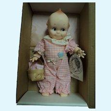 Adorable 1983 Jesco Kewpie Doll Kewpie goes on a Picnic  w/box Free P&I US Buyers