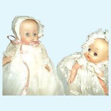 2 Adorable Vintage Baby Dolls Free P&I US Buyers