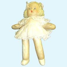 "Cutest 13"" Cloth Doll L@@K Free P&I US Buyers"