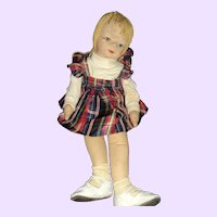 "24"" Cloth doll  Georgene or Friends Free P&I US Buyers"