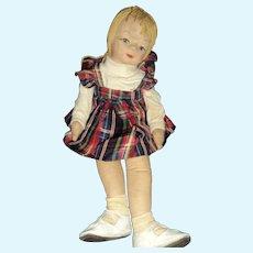 "24"" Cloth doll  Georgene or Friends Free P&I US Buyers"