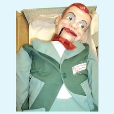 Paul Winchell's Jerry Mahoney Ventriloquist Dummy Juro doll free p&I US Buyers