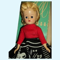 Wonderful Vogue Jill doll   Record Hop free p&I US Buyers