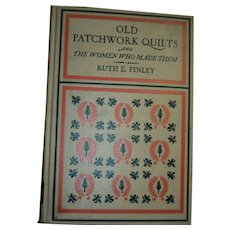 1929  4th impression OLD PATCHWORK QUILTS & Women who made them Free P&I US Buyers