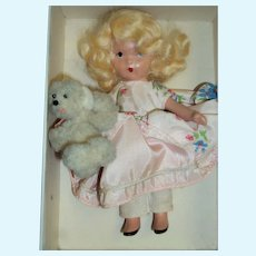 Nancy Ann StoryBook Sl Doll Goldylocks & Bear 128 Free P&I US Buyers