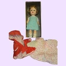 Nancy Ann Storybook Doll Debbie walker doll  w/box/clothes Free P&I US Buyers