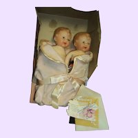 Adorable Jolly Co Twin dolls free p&I US Buyers