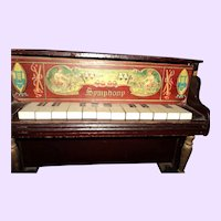 Lovely Vintage Child's Toy Piano Free P&I U S Buyers