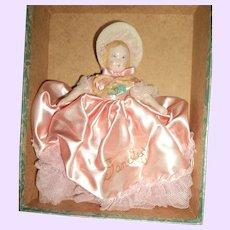 Beautiful Ruth Gibbs china Doll w/ox Free P&I US Buyers