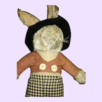 Awesome Stuffed Dressed Rabbit Free P&I US Buyers