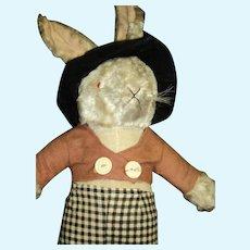 Awesome Stuffed Dressed Rabbit Free P&I US Buyers