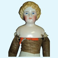 "17""Lovely Blonde China Doll free P&I US Buyers"