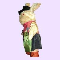 Vintage Musketeer Bunny Rabbit Free P&I US Buyers
