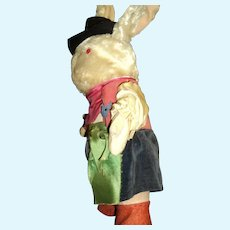 Vintage Musketeer Bunny Rabbit Free P&I US Buyers