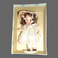 Nancy Ann JL Bisque Story Book Doll Mary Had A Little Lamb  rare hat Free p&I US Buyers