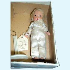 #115 Little Boy Blue Nancy Ann Story Book Doll jl w/box Free P&I US Buyers