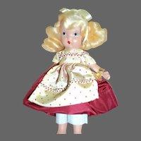 128 Goldilocks Nancy Ann Story Book doll Free P&I US Buyers