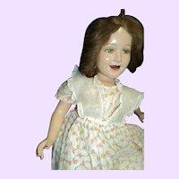 "Lovely 25"" Deanna Durbin Compo doll Free P&I US buyers"